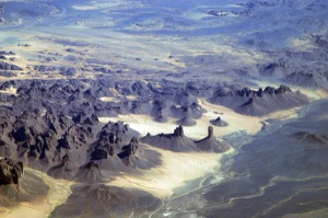 national park worldwide  Algeria Tassili N'Ajjer National Park, Gara Takchilalene,