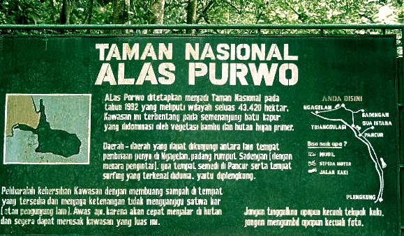 Alas Purwo National Park   National Parks of the World